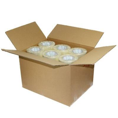 18 Rolls Clear 2 Mil Carton Sealing Shipping Box Packing Tape 1.9 In X 110 Yards