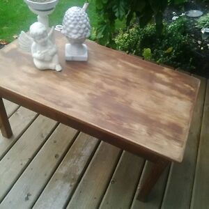 Rustic primitive farmhouse coffee table-refinished