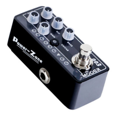Mooer Power Zone 003 Digital Micro PreAmp Guitar Effects Pedal New