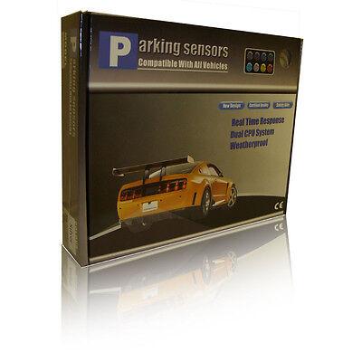 Black Or Silver 4 Point ReversingParking Sensor Kit Set All Fiat Abarth