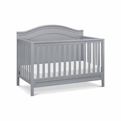 DaVinci Charlie 4 in 1 Convertible Crib in Gray