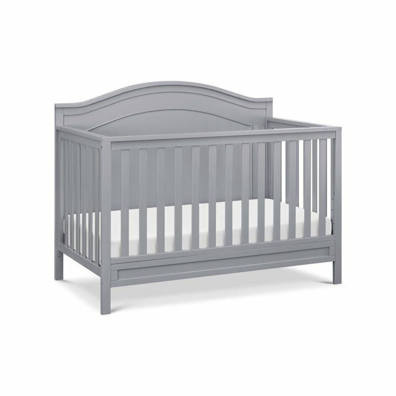 DaVinci Charlie 4-in-1 Convertible Crib in Gray