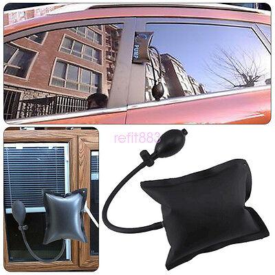 DIY Powerful Pump Air Wedge Airbag Lock Black Car Pickup 4X4 Door Inflatable Kit