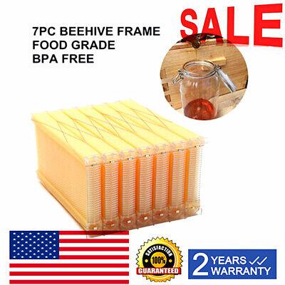 7p Auto Honey Beehive Frames Beekeeping Raw Bee Harvest Hive Frame Food-grade