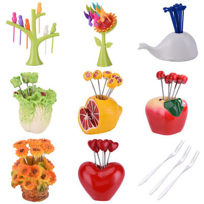 New Creative Fruit Fork Stainless Steel Kitchen Utility Useful Home decoration