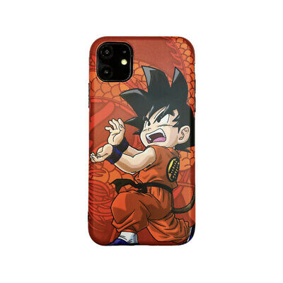 Dragon Ball Z Child Goku Son Gokou Case for iPhone X Xs Max XR iPhone 11 Pro Max