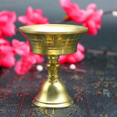 Candle Holder Buddhism Pure Copper Stand Brass auspicious Wealth Golden Color