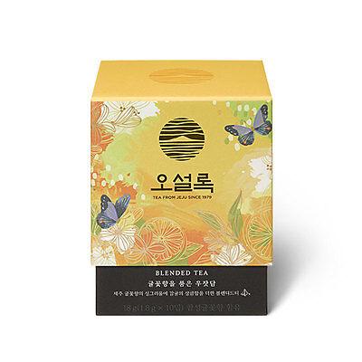 [OSULLOC] JEJU Tangerine flower Blended Tea (10 Teabags)_MEMORY IN JEJU