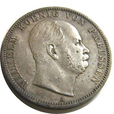 elf Germany Prussia 1 Thaler 1867 A