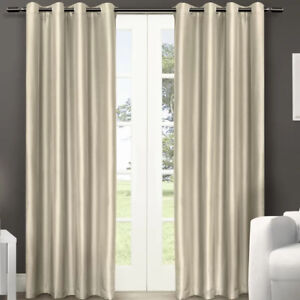 Grommet top curtain panels (Set of 2)