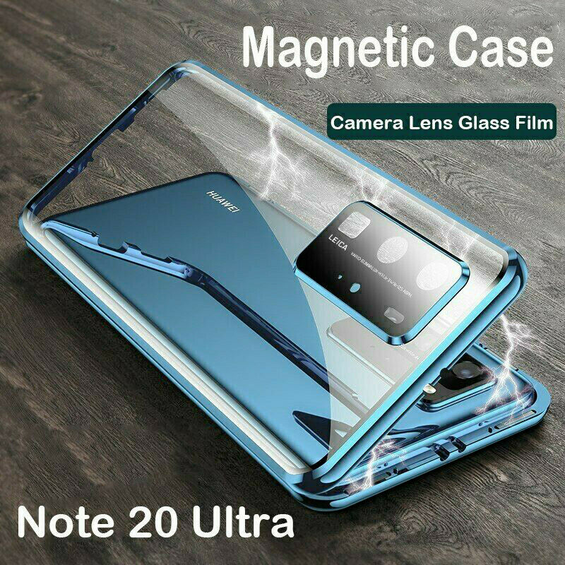 Magnetic Glass Case Camera Lens Protect Fr Samsung Galaxy No