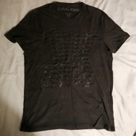 Men's black CK tshirt