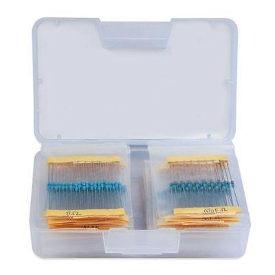 17 Values 1 Resistor Kit Assortment 0 Ohm-1m Ohm Pack Of 525 Pin 0.02 G5v0
