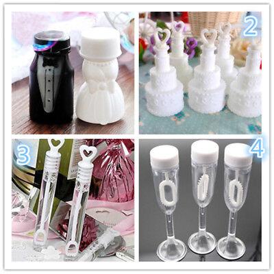 10Pcs Empty Bubble Soap Bottles Wedding Birthday Party Favor Decoration Kids Toy - Bubble Bottle