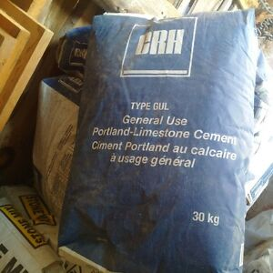 10 Bags of Portland Cement - Just bought Peterborough Peterborough Area image 1