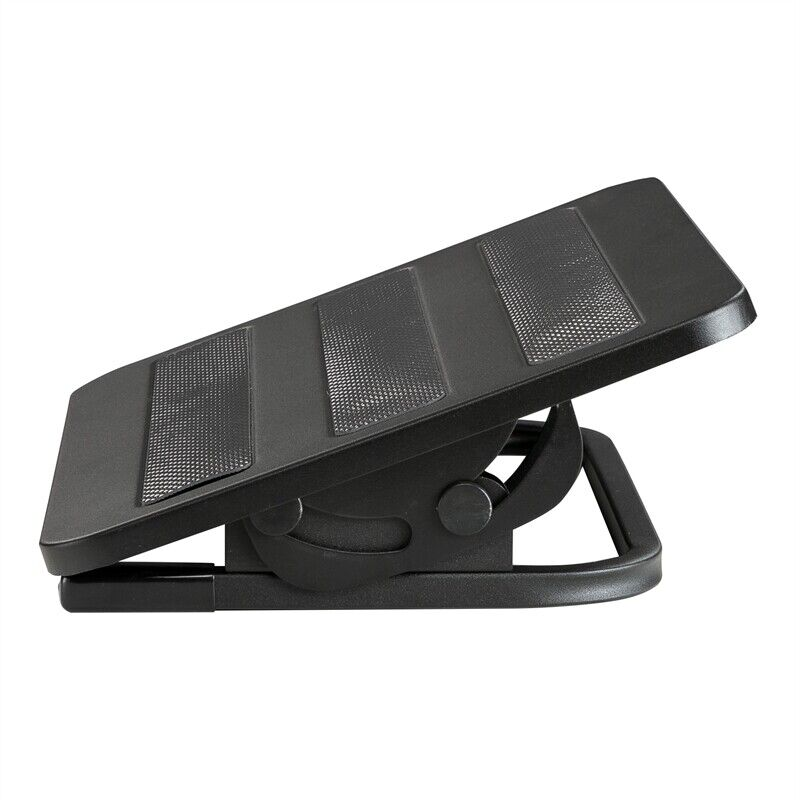 "Safco Tilting Footrest in Black - 12""L x 15""W x 5.25""H"