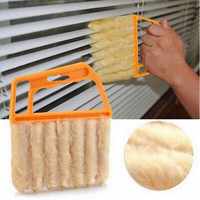 Washable Microfiber7Hand Window Mini-blind Cleaning Brush Conditioner DusterATUJ