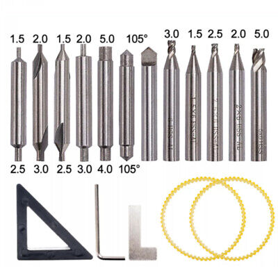 Drill Bits Set For 368a Locksmith Tool Vertical Key Machine Spare Parts