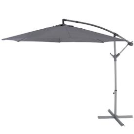 B&Q Malta 3m Overhanging Cantilever Parasol Patio Umbrella