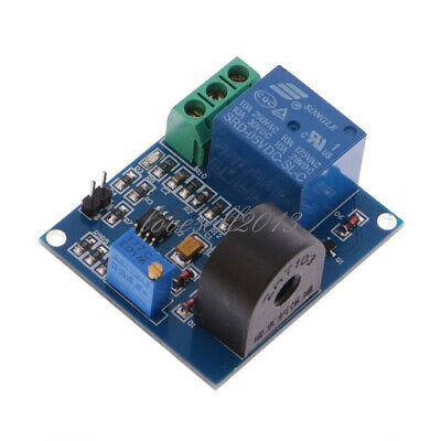 New 0-5a Ac Current Sensor Detection Switch Output Dc 12v Module