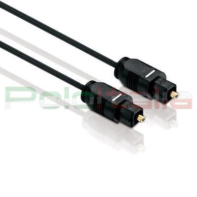 Cavo 1,5m audio TOSLINK ottico digitale spdif optical cable per tv amplificatore