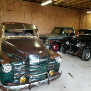 Old trucks for sale.
