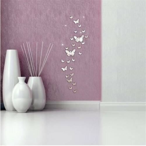 For Kids Rooms 3d Stereo Wall Stickers Colorful Romantic Hom