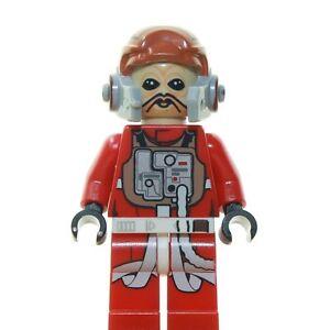 LEGO-STAR-WARS-FIGURE-MINI-DIECI-intorpidire-Rebel-PILOTA-75050-NUOVO