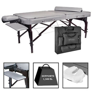 BRAND NEW Master™ Montour LX™ 30-in. Massage Table Bundle.