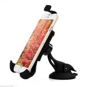 Universal Suction Cup Vacuum Car Windshield Mount iPhone GPS A10
