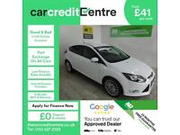 WHITE FORD FOCUS 1.0 ZETEC NAVIGATOR ***FROM £41 PER WEEK***