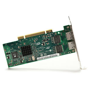 Intel 82546 PRO/1000 MT Dual Port Server PCI Adapter Driver CD Low profile AU