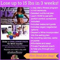 21 DAY FIX SUMMER SIZZLE CHALLENGE