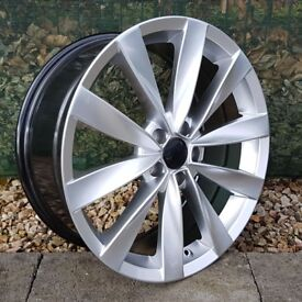 "18"" Scirocco Sport Style for VW Audi Seat 5x112 Etc"