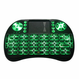 Mini Wireless Keyboard with Touchpad for TV Boxes, PCs, PS3, Ras