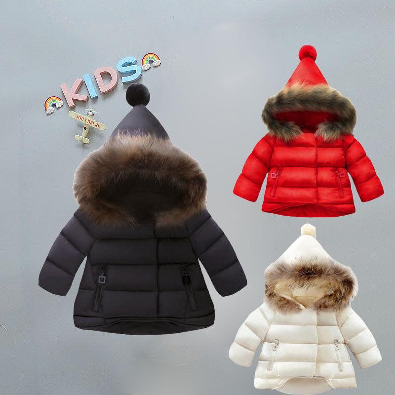 Toddler Children Baby Girls Boys Kid Down Jacket Coat Autumn Winter Warm Clothes 1