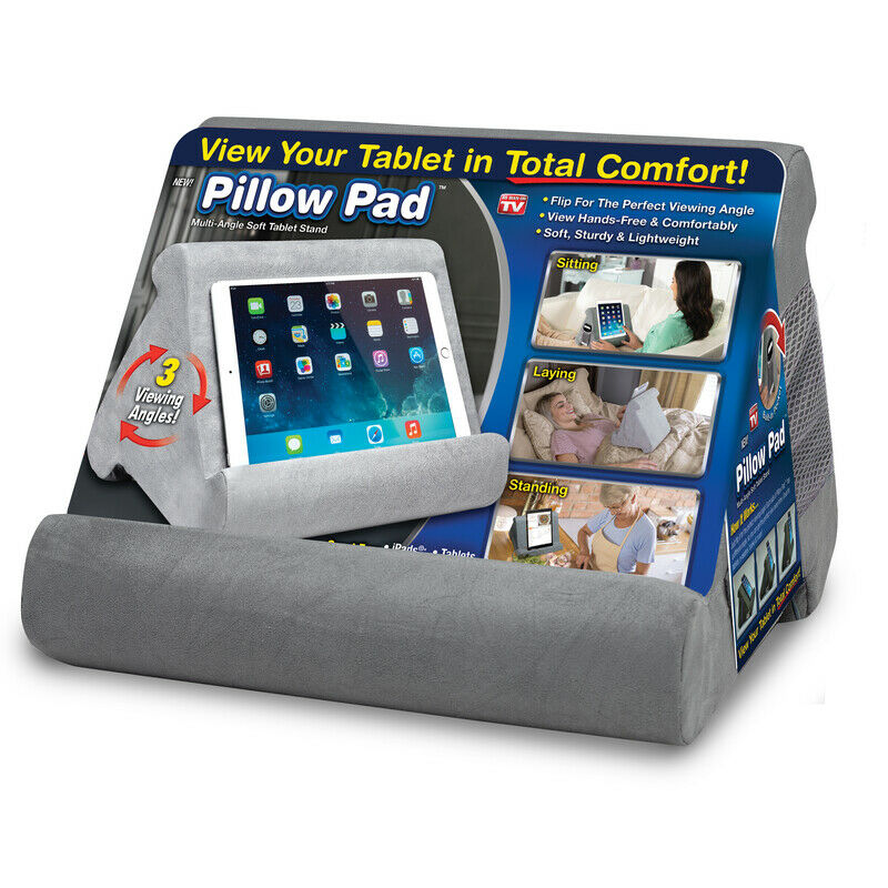 Pillow Pad As Seen On Tv Tablet Holder Cushioned Foam 1 Pk