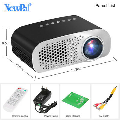 1920*1080P Full HD LED Projector Home Beamer Support SD HDMI USB