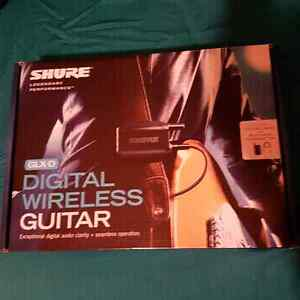 Shure GLX-D Digital wireless for guitar/bass