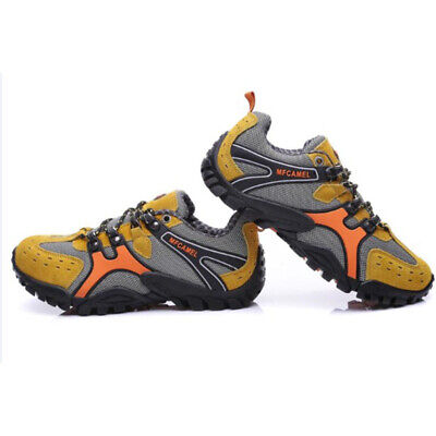 Hiking Shoes - Men Hiking Shoes Sport Anti-skid Breathable comfortable Sneakers Outdoor Trainer