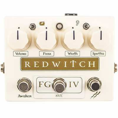 Red Witch Fuzz God IV Fuzz effects pedal, Brand New in Box