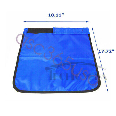 X-ray Protection Protective Short Apron 0.5mmpb Blue Health Medical Use New