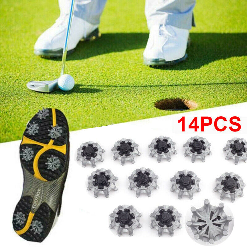 28Pcs Golf Shoes Spikes Fast Twist Studs Cleats Tri-Lok For Footjoy Replacement