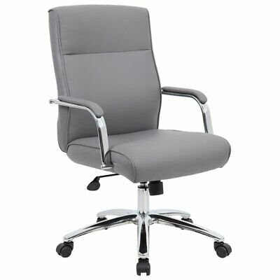 Boss Office Sterling Faux Leather Swivel Executive Office Chair
