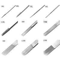 100 Piezas Profesional Desechable Agujas Para Tatuar Tubo Set 3/5/7/9 / 11/13 -  - ebay.es