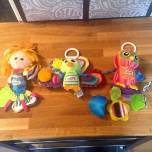 3 Lamaze Baby Toys
