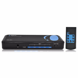 HDMI Powered Switcher for Full HD 1080P and 3D