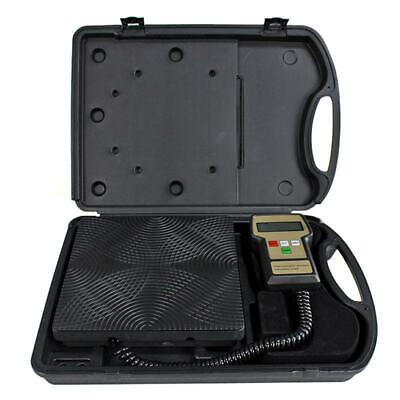 New Digital Refrigerant Electronic Charging Scale 220 Lbs For Hvac With Case