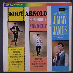 Jimmy James-Eddy Arnold Songbook LP on Arc Records