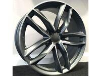 """20"""" RS6C Style Alloy Wheels. Suit Audi A4, A5 & A6 (5x112)"""